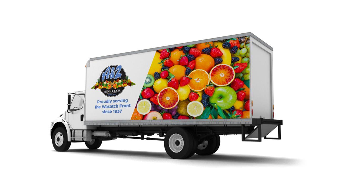 A&Z Produce Trucks