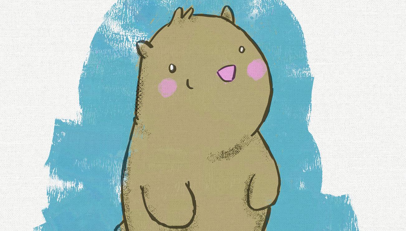 Chubby Animal Illustrations